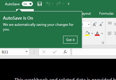 What Is Autosave in Microsoft Office 365? | officesmart
