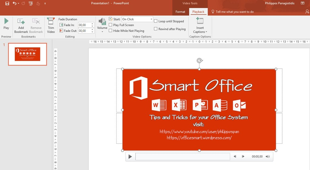 Insert Closed Captions on Videos in PowerPoint 365 | officesmart