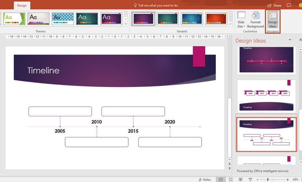 design ideas for timelines in powerpoint 365 officesmart