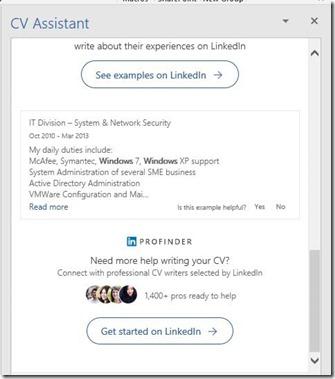 CV Assistant