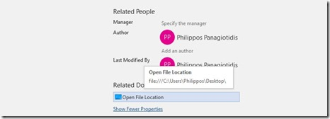 Open File Location
