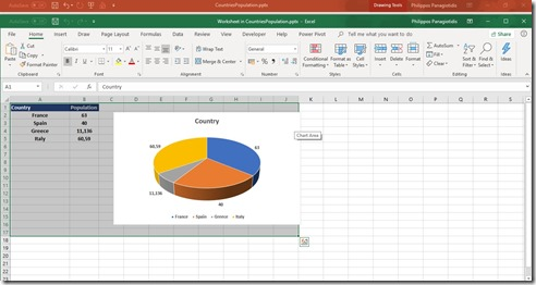 Open in Microsoft Excel