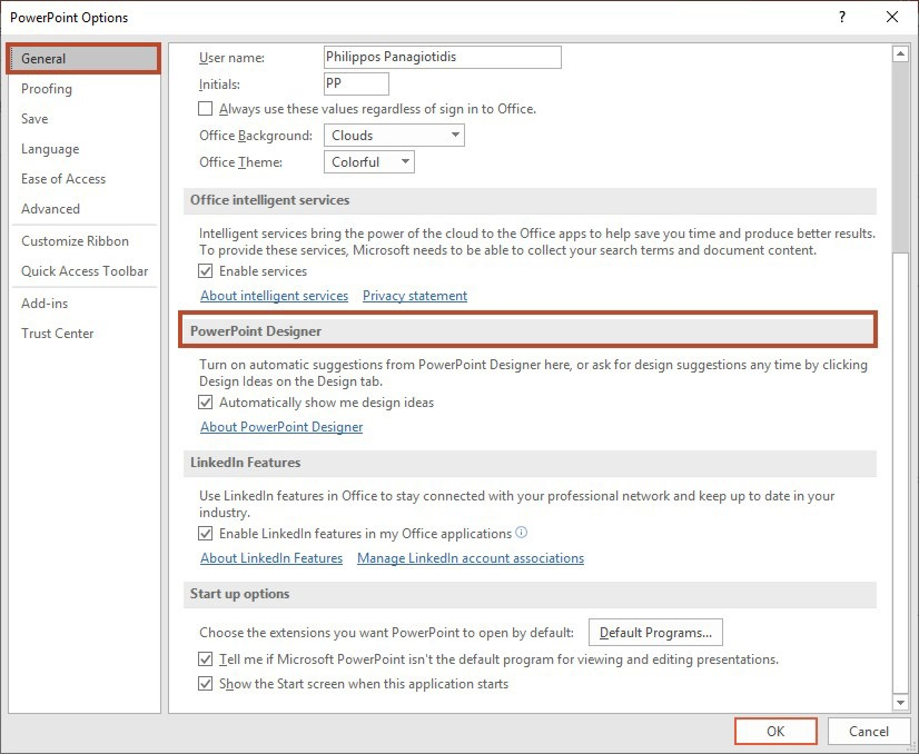 How To Activate The PowerPoint Designer Feature? | officesmart