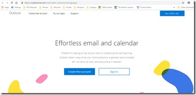 Login Outlook Web Mail