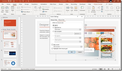 How To Insert An Action in PowerPoint