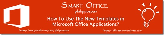 Microsoft Office Blog Banner